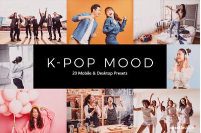 20  K-Pop Mood LR Presets