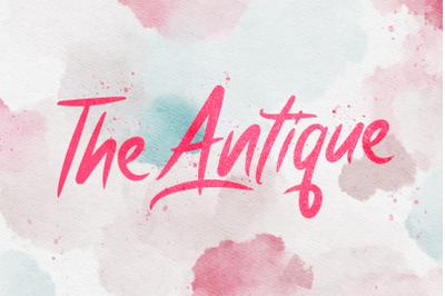 Antique - Bold Script Font