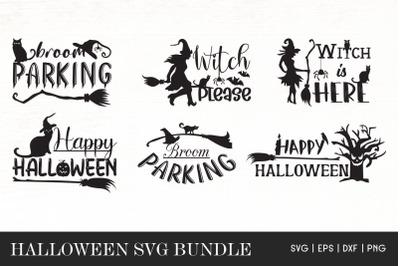 Halloween Quotes SVG Bundle