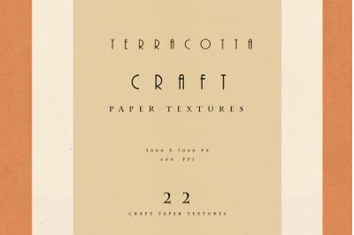 Terracotta Fine Art Paper Set