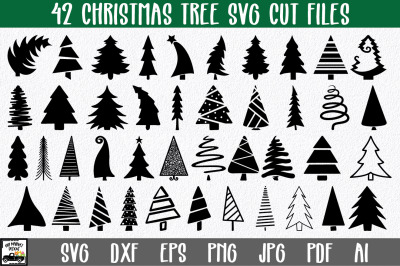 Christmas Trees SVG Cut File Bundle