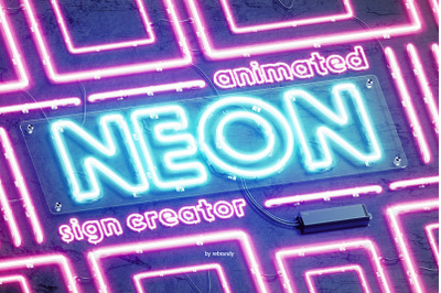 Neon Animated Sign Creator