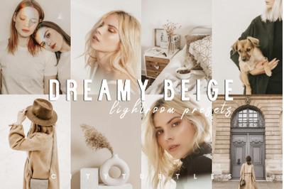 Soft Warm Film DREAMY BEIGE Lightroom Presets Pack for Desktop & Mobil