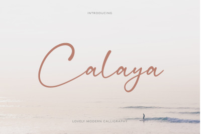 Calaya - Lovely Modern Script