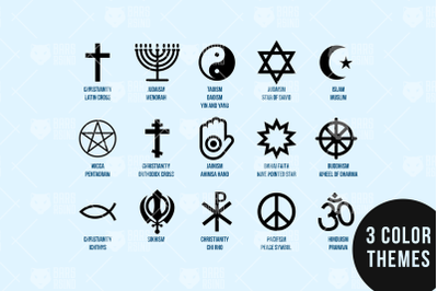 Religion Diversity Set