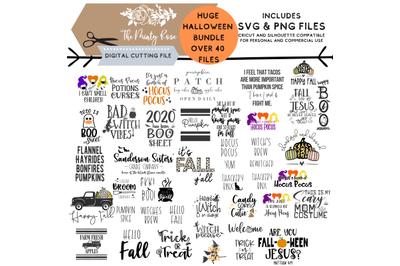 Huge Halloween Fall SVG Bundle, Hocus Pocus, Hello Fall