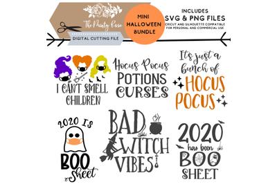 Mini Fall bundle, SVG PNG Cricut Silhouette cutting files