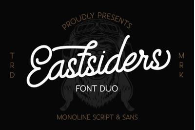 Eastsiders - Monoline Font Duo