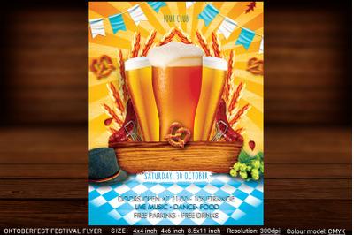 Oktoberfest Festival Flyer