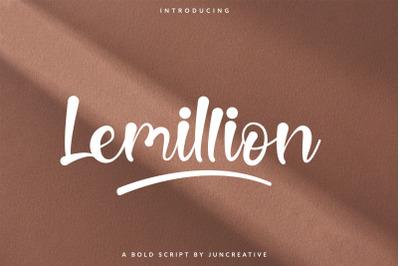 Lemillion Bold Script