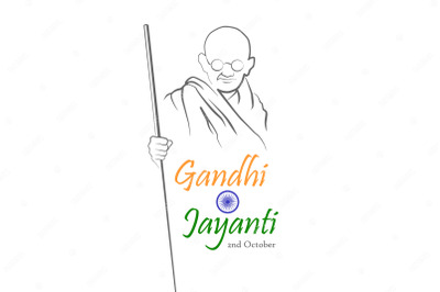 October 2. Happy Gandhi Jayanti.