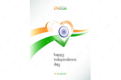 August 15. Independence day of India.