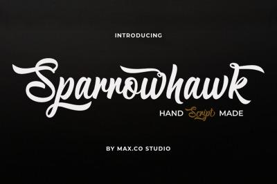Sparrowhawk Script Font