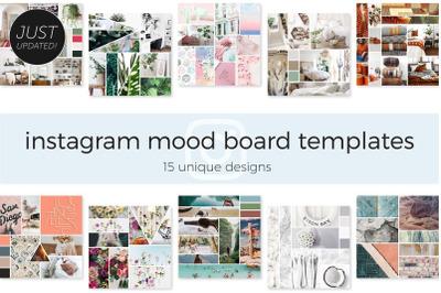 Instagram Mood Board Templates
