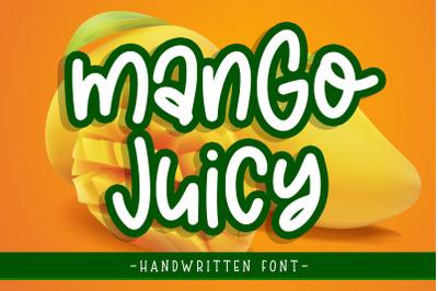 Mango Juicy