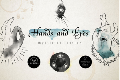 Hands and Eyes Mystic Collection