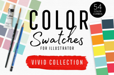 Color Swatches - Vivid Collection
