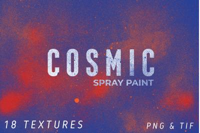 Cosmic Spray Paint Textures