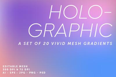 20 Holographic Gradients