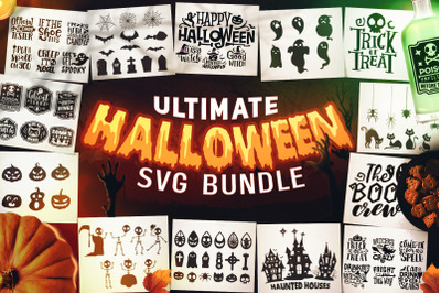 ULTIMATE Halloween SVG Bundle - Halloween Sayings SVG