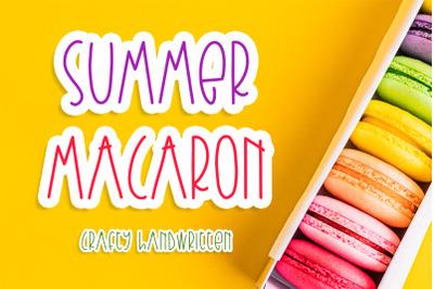 Summer Macaron