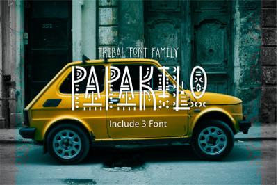 PapaKilo - Tribal Font Family