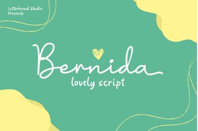 Bernida - Lovely Script