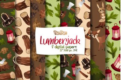 Lumberjack Digital Papers