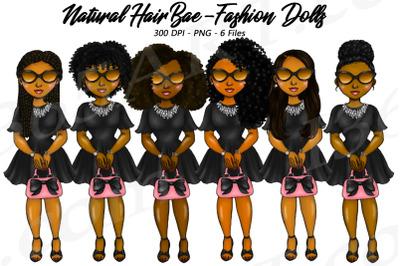 Black Woman Tiffany Fashion Girl Clipart