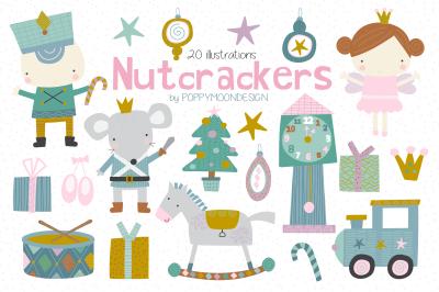 Nutcrackers clipart