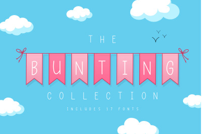 The Bunting Font Collection