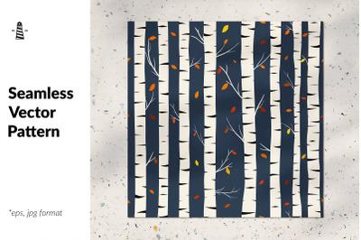 Birch seamless pattern