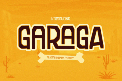 Garaga | a Display Typeface
