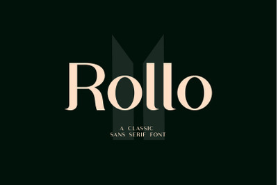 Rollo Classic Sans Serif Font