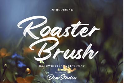 Roaster Brush-Elegant Handwritten Font