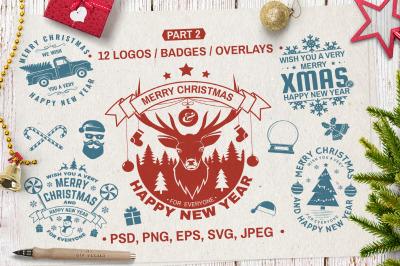 Christmas Logos/Overlays