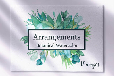 Botanical Watercolor Arrangements