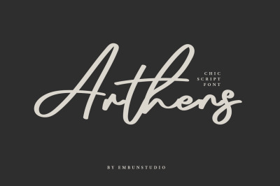 Arthens Script