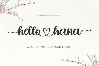 Hello Hana Script
