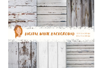 Digital white background