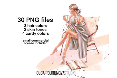 Cozy clip art Fashion illustration, Planner girl Planner cover, Fashio