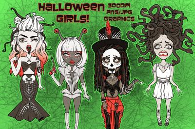 Halloween Costume Girls Collection
