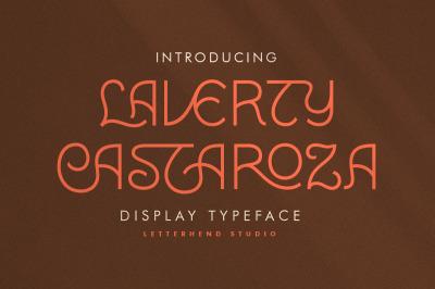 Laverty Castaroza - Display Typeface