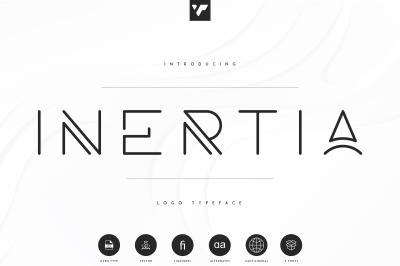 Inertia - Logo Typeface | 5 weights