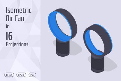 Isometric Air Fan