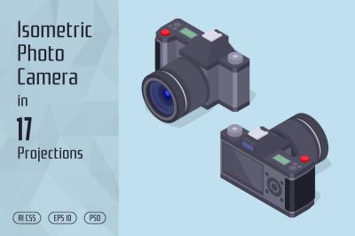 Isometric Photo Camera