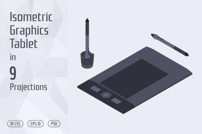 Isometric Graphics Tablet