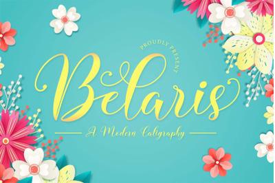 Belaris - Modern Script
