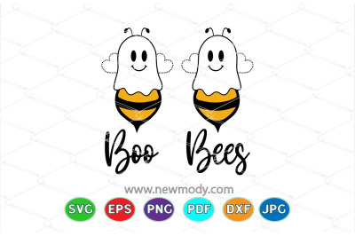 Boo Bees Svg- Halloween 2020 SVG- Halloween Shirt design - Bee Svg