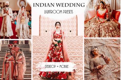 Indian Wedding Lightroom Presets | Mobile + Desktop
